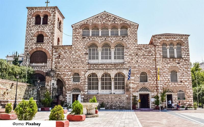 crkva svetog dimitrija solun
